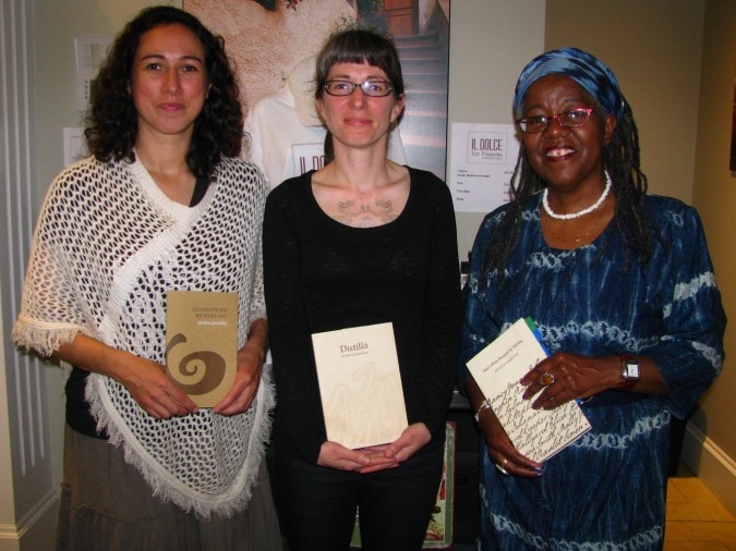 Poetry Reading in Wolfville, Nova Scotia